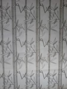 Decal dán tường Decal dán kính trúc xám