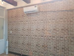 Decal gạch xám nâu khổ 90cm