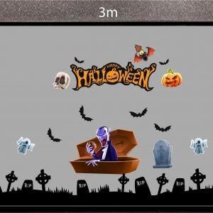 Decal dán tường Decal trang trí Halloween số 37