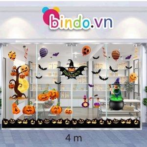 Decal dán tường Decal trang trí Halloween số 64