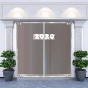 Decal dán tường Decal trang trí noel số 2020