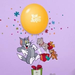 Decal dán tường Đèn ngủ Tom And Jerry 1