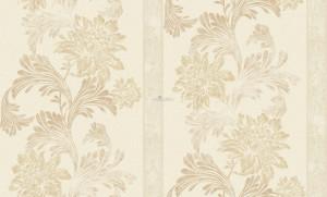 Giấy dán tường họa tiết hoa dây leo vàng