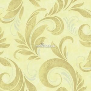 Giấy dán tường họa tiết  vàng 1