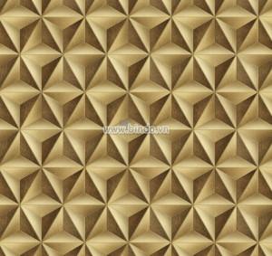 Giấy dán tường tam giác vàng