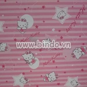 Giấy decal cuộn kitty hồng