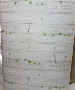 Giấy decal cuộn vân gỗ tự nhiên trắng