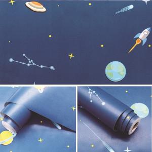 Giấy decal cuộn vũ trụ không gian