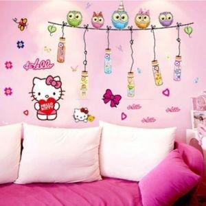 Decal dán tường Hello Kitty 22