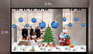 Decal dán tường Trang trí Noel Combo Số 13
