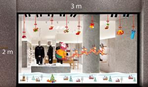 Decal dán tường Trang trí Noel Combo Số 21