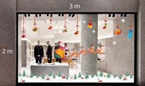 Decal dán tường Trang trí Noel Combo Số 22