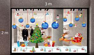 Decal dán tường Trang trí Noel Combo Số 31
