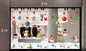 Decal dán tường Trang trí Noel Combo Số 33