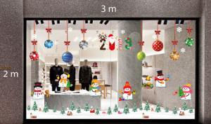 Decal dán tường Trang trí Noel Combo Số 34