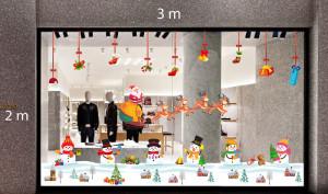 Decal dán tường Trang trí Noel Combo Số 40