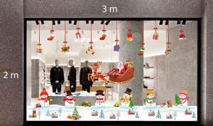 Decal dán tường Trang trí Noel Combo Số 41