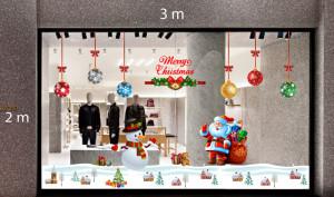 Decal dán tường Trang trí Noel Combo Số 6