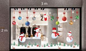 Decal dán tường Trang trí Noel Combo Số 7