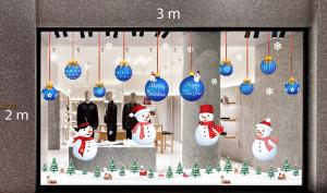 Decal dán tường Trang trí Noel Combo Số 8