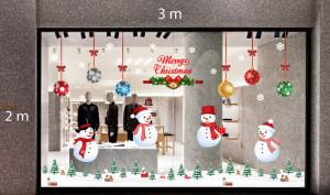 Decal dán tường Trang trí Noel Combo Số 9