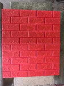 Xốp dán tường màu đỏ (8mm)