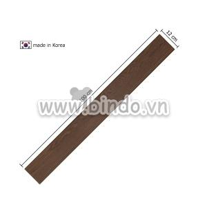 Xốp giả gỗ hàn quốc chân tường walnut (100x12)